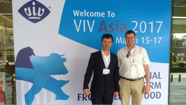 VIV Asia 2017 - 333 team at VIV Asia
