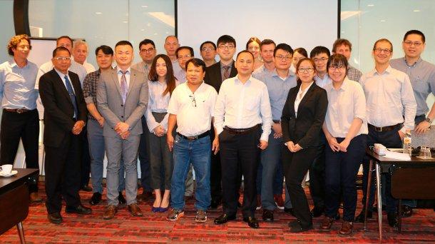 第三届亚太区经销商会议集体照