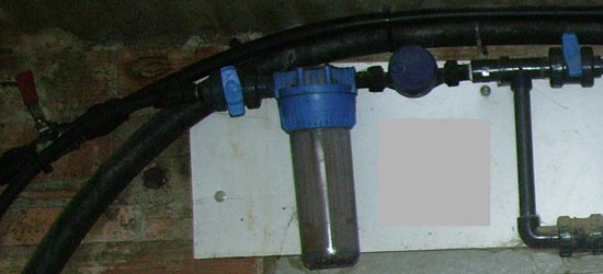 The filter is an essential element for maintaining the pipes system clean