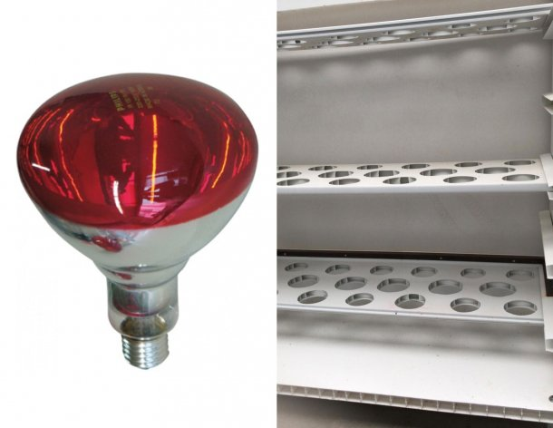 Picture 3: Left: Infrared bulbs cost approximately 9 euro/bulb (https://www.pig333.com/shop/infrared-lamps-and-protectors_44/).  Right: Another design of the chart: this one with 3 floors.