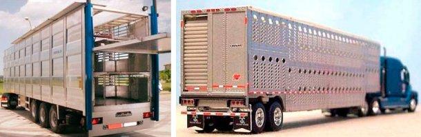图3.欧洲的运猪车。资料来源:NEWNION和图4。北美的运猪车。资料来源:伊利诺伊州卡车执法协会Enforcement Association