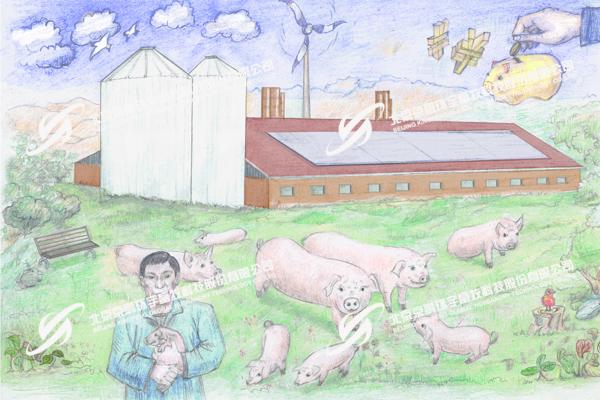 """京鹏环宇畜牧""""和谐猪场""""  倡导人、猪、环境、效益相互和谐"""